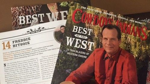 Pick up the latest issue of Cowboys and Indians and see the Best of the West issue!! So proud to be a part of it.