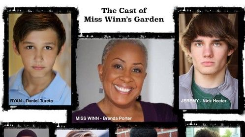 My cast for the upcoming production of Miss Winn's Garden! I'm excited for our summer production to begin!