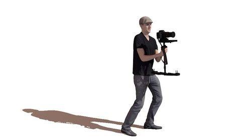 3d model of me filming