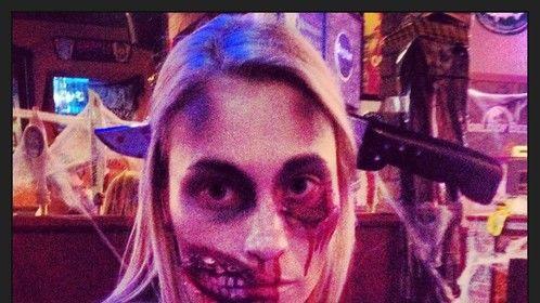 Joanne Marcus as Zombie Girl