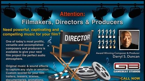 Attention Filmakers
