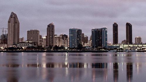 Downtown San Diego Skyline View