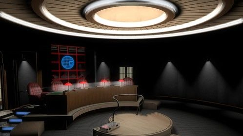 The boardroom for an upcoming 3D animation project.