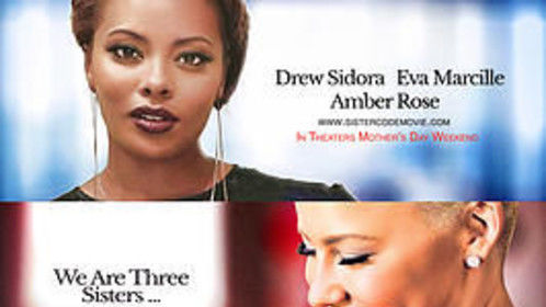 The movie, Sister Code, can be seen through the attached  trailer (www. ceotickets.com starring Amber Rose.  Premier 5.8.15  Nationwide