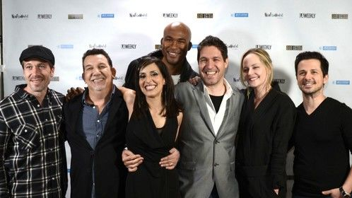 On the red carpet with the cast of Mediation