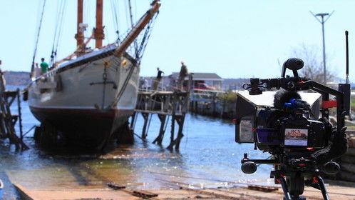 Shooting at North End Shipyard in Rockland Maine.