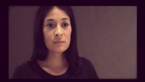 Audition still shot for the feature film The Messenger's