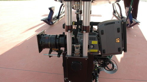 Filming in Europe with the Gyron  and Sony F35 for Busch Gardens