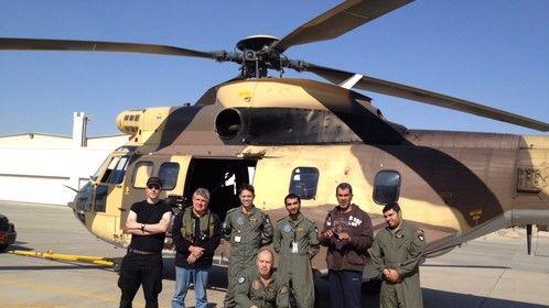 Kuwait and Super Puma Crew
