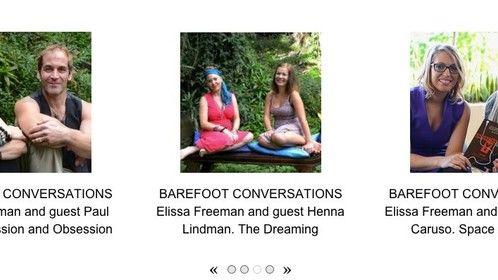 Barefoot Conversations dot tv