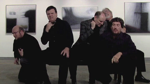 """Calvin Houts, J. Howard Bach, Jim Dailey, Jamey Propst and Wes Bailey in """"The HusBand"""""""
