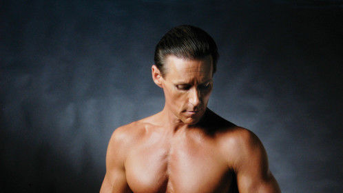 Body Shot for Fitness Trainer Business Card. 2006, age 46.