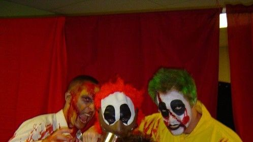 Played Bobo the Clown at Corbbet's House of Horror.
