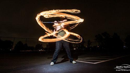 Spinning staff! Photography courtesy of Dima Koshutin.
