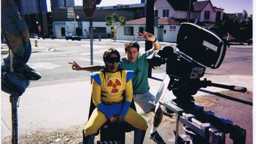 Filming Falling Up in San Diego.
