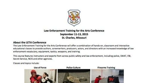 Law Enforcement Training for the Arts Conference - www.letaconference.com