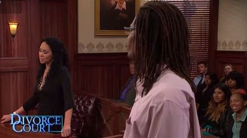 Sherry and Jamie Hurnes try to hash out thier differences for Judge Toiler on Divorce Court. Don't worry...they are still together!
