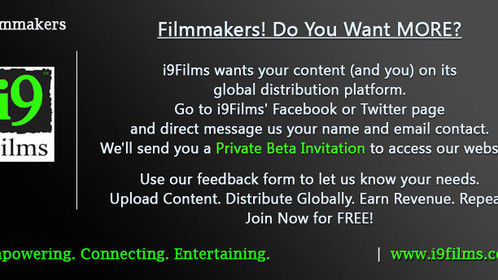 #i9Films #SeekingContent