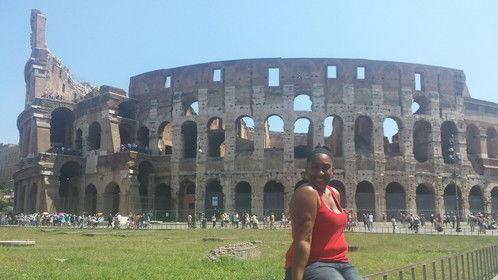 Me in Rome! #thecolloseum