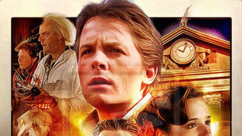 """Tomorrow night for one night only, reliving my past with """"Back to the Future"""" on the big screen.  """"Great Scott!"""""""