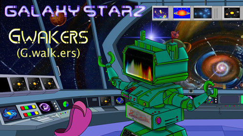 Here's the robot I'm voicing in the animated series Galaxy Starz.