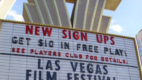 Nothing like a great film festival the day after my birthday in Las Vegas!