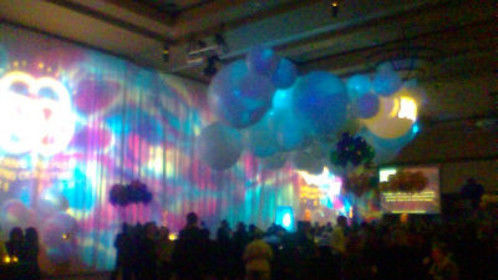 Lighting Design for Saint Mary's Centennial Soiree at the Reno Ballroom in Reno, NV.