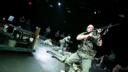 SFC Miles, Occupied Territories, Theater Alliance (C. Stanley Photography)