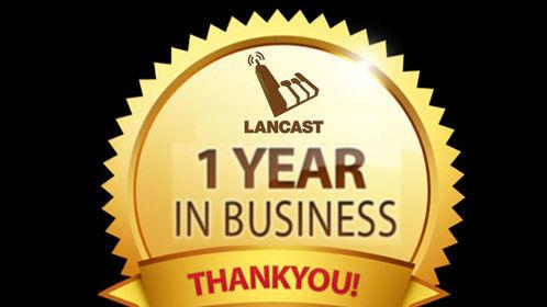 We are one year in! Happy Anniversary Lancast Ltd. Music. Creativity. Technology. #lancastltd #musicbusiness