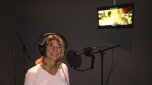 Melissa Gruver had fun doing her ADR