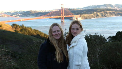 Me, my daughter and the Golden Gate Bridge! Dec 2014