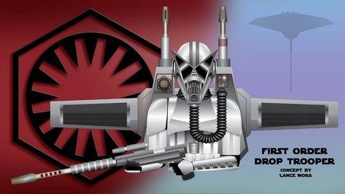First Order drop Trooper Concept.