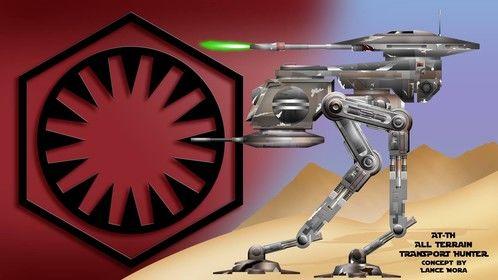 First Order walker Concept.