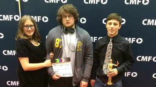 """Best picture for our short film, """"Tantibus"""" for which I was also awarded best actor for my role in the short film for Campus Movie Festival."""