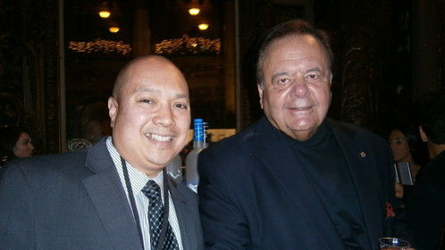 "2013 Golden Door Film Festival with actor Paul Sorvino, screening ""When bart6874 met lulu5547"""
