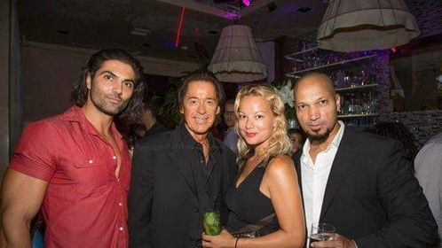 Modelling event at Sur Lounge,beverly hills