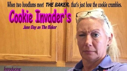 Cookie Invaders - My first movie poster credit - Okaaay, it's barely readable, but gotta start somewhere, right?