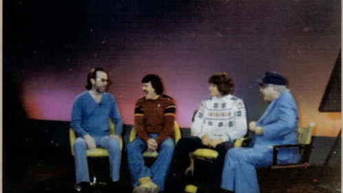 Forrest Duke Show in Las Vegas, Nv. 1980 with George Carlin, John Oscar Hein, Jim Ernie Blockey, the Ain't Brothers we were known as, with Forrest.