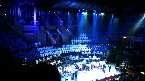 600 Voice Choir performing my arrangement of 'How Lucky Can You Get?' for Caroline O'Connor at the Royal Albert Hall, 2007.