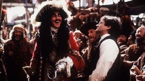 Hook (1991)  Dir: Steven Spielberg Stars: Dustin Hoffman, Robin Williams, Julia Roberts  Peter Pan must return to Neverland when Captain Hook kidnaps his children. Peter then reclaims his old youthful spirit in order   Watch the movie here: http://www.primewire.ag/watch-1488-Hook-online-free
