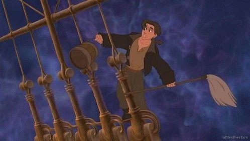 Treasure Planet (2002)  Dir: Ron Clements, John Musker Stars:  Joseph Gordon-Levitt, Emma Thompson, Martin Short  A Disney animated version of â