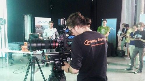 Open Day AJA CION by Cinema Rental