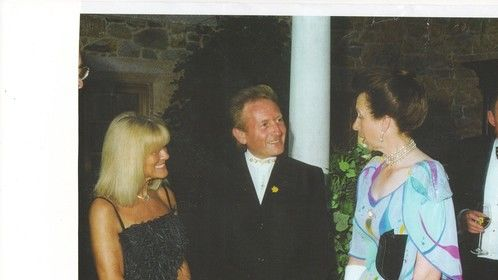 With HRH The Princess Royal...The all love The Wibberly Wobberly Tooth  www.thetidderlypops.co.uk