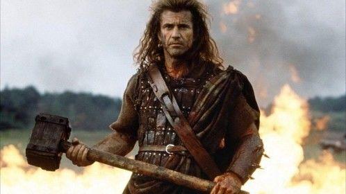 Braveheart (1995) Dir: Mel Gibson Stars: Mel Gibson, Sophie Marceau, Patrick McGoohan, Angus Macfadyen  William Wallaceâ