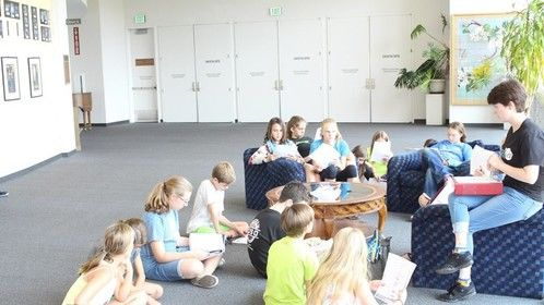 Cold reads Journey to Wonderland Camp - Grades 3-8