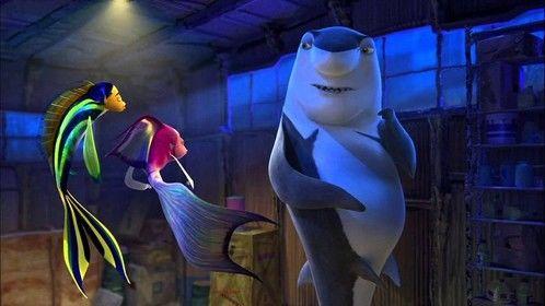 Shark Tale (2004) Dir: Bibo Bergeren, Vicky Jenson Stars: Will Smith, Robert De Niro, Renee Zellweger, Angelina Jolie  After a gangster shark bossâ