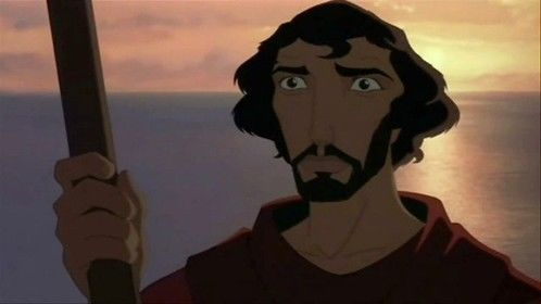 The Prince of Egypt (1998) Dir: Brenda Chapman, Steve Hickner Stars: Val Kilmer, Ralph Fiennes, Michelle Pfeiffer, Sandra Bullock  An Egyptian Prince finds out his true identity as a Hebrew and later his destiny become the chosen deliverer of his people.  Watch it here: http://www.watchfree.to/watch-4cb-The-Prince-of-Egypt-movie-online-free-putlocker.html#close-modal