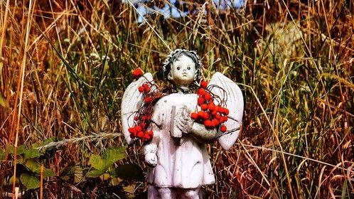 Poignant child's memorial.  Brompton cemetery, London.