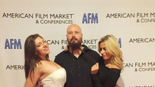 With Rachel Nunez Handzlik and Joanna Pallante at AFM 2014.