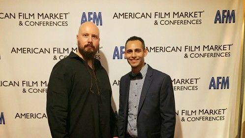 Jes Selane and Johnny Rey Diaz at AFM 2014.